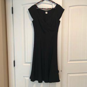 J crew Cecelia dress black size 10 NWOT